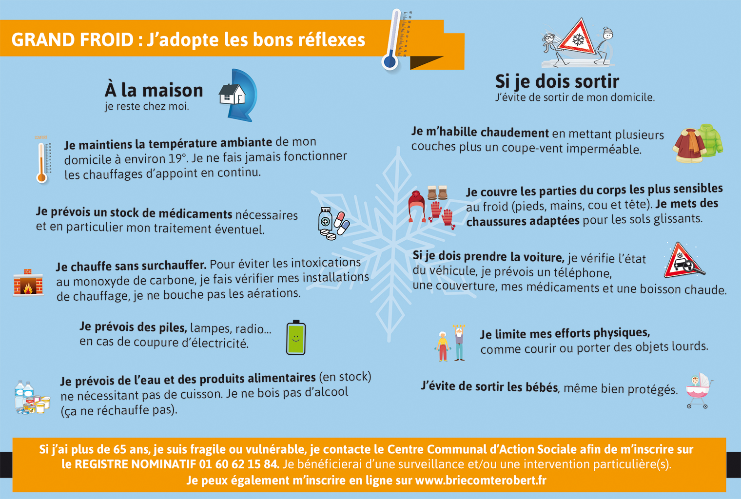 Infographie Grand Froid